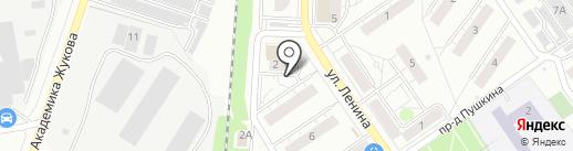 Школа изобразительного искусства им. В.А. Огольцова на карте Дзержинского
