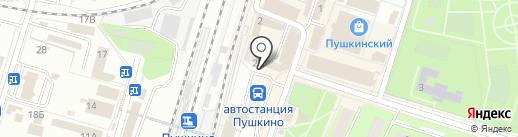Скупка №1 на карте Пушкино