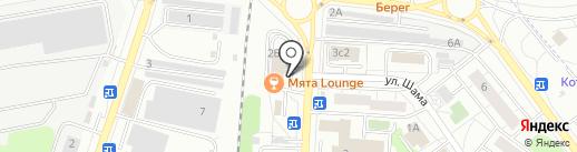 МакАвто на карте Дзержинского