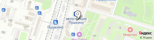 Платежный терминал, Московский кредитный банк, ПАО на карте Пушкино
