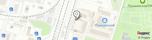 Бистро на карте Пушкино