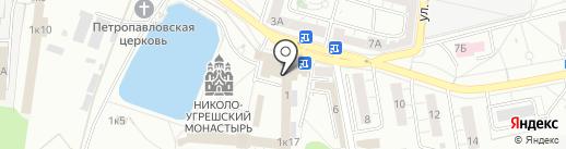 Монастырская выпечка на карте Дзержинского