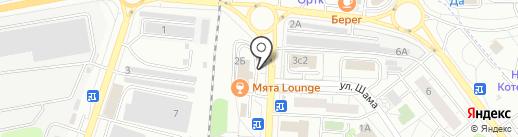 Батонский Шеф на карте Дзержинского