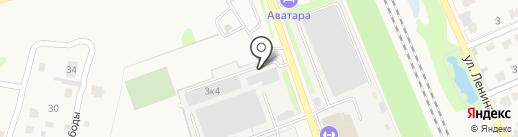Трудовые резервы на карте Домодедово