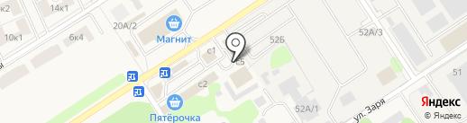 Автосервис на карте Растуново