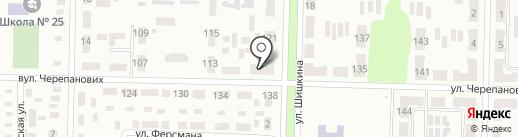 У Жеки на карте Макеевки