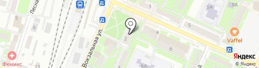 Выбор на карте Пушкино