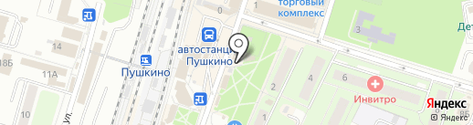 Comepay на карте Пушкино