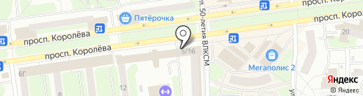 ФЕРМЕР на карте Королёва