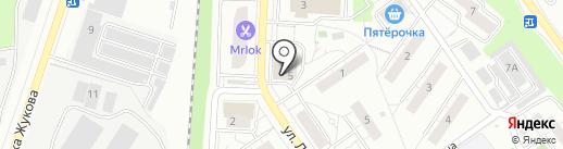 Пятерочка на карте Дзержинского