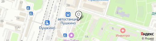Пей молоко! на карте Пушкино
