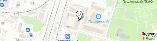 Ремонтная мастерская на карте Пушкино