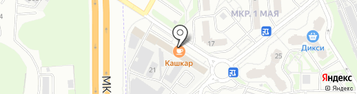 КашКар на карте Балашихи