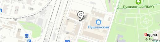 Компания на карте Пушкино