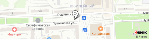 Автостоянка на карте Королёва
