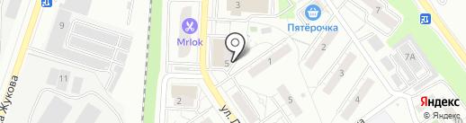Платежный терминал, МОСКОВСКИЙ КРЕДИТНЫЙ БАНК на карте Дзержинского