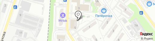 РемБытСервис на карте Дзержинского