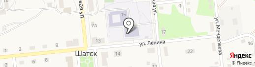 Центр образования №50 на карте Шатска