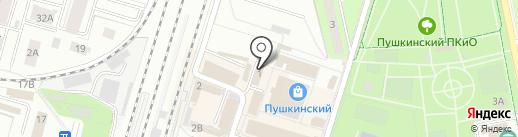 Рыбачок на карте Пушкино