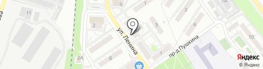 Почтовое отделение №140091 на карте Дзержинского