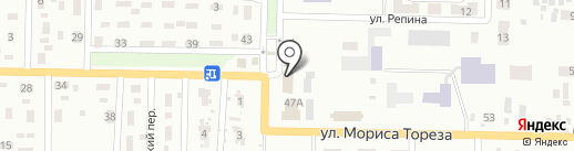 Золушка на карте Макеевки