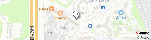 Швейное ателье на карте Балашихи