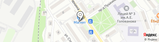Общежитие №8 на карте Дзержинского
