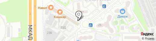 Магазин овощей и фруктов на карте Балашихи