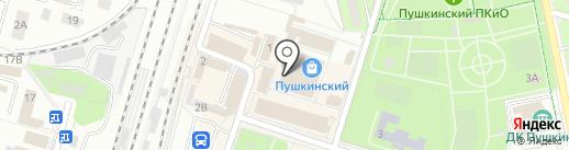 Магазин инструментов на карте Пушкино