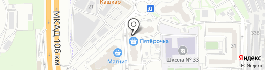 1 Мая на карте Балашихи