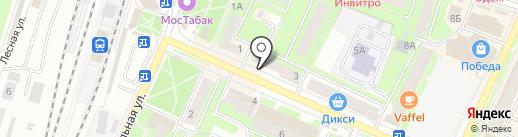 Экоморье на карте Пушкино
