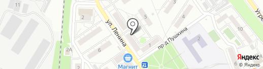 Общественная приемная исполнительных органов государственной власти Московской области на карте Дзержинского