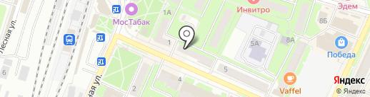 Ателье-мастерская на карте Пушкино