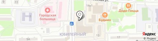 TUI на карте Юбилейного
