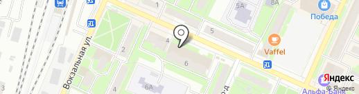 Магазин сувениров и бижутерии на карте Пушкино