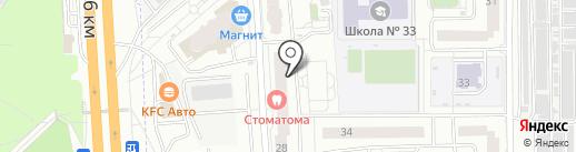 Фармако на карте Балашихи