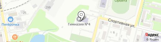 Средняя общеобразовательная школа №1 на карте Дзержинского