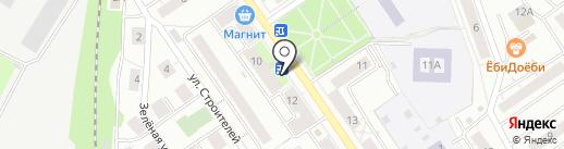 Киоск по продаже печатной продукции на карте Дзержинского