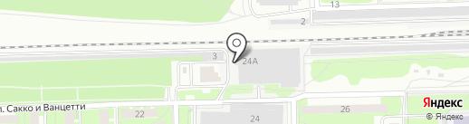 Подлипки на карте Королёва