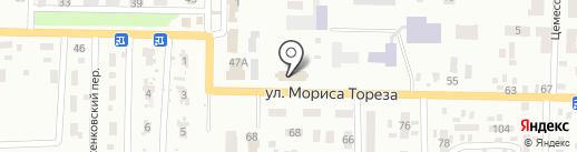 Червоногвардійський районний суд, м. Макіївка на карте Макеевки