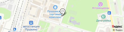 Fobos на карте Пушкино