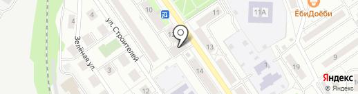 Норма на карте Дзержинского