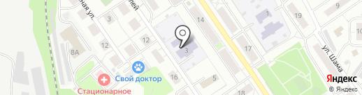 Детский сад №8 на карте Дзержинского