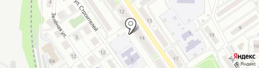 Киоск по продаже мороженого на карте Дзержинского