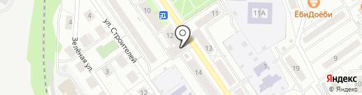Тандем на карте Дзержинского