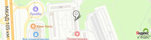 КВАРТАЛ на карте Балашихи