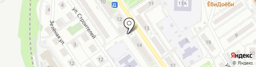 Профессионал Банк на карте Дзержинского