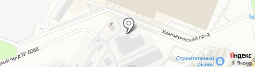 Дружок на карте Котельников