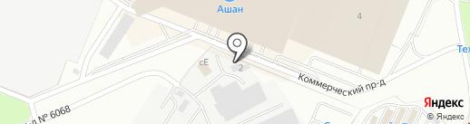 ГАЗСТРОЙ на карте Котельников