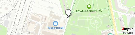 Медиа-Селект на карте Пушкино